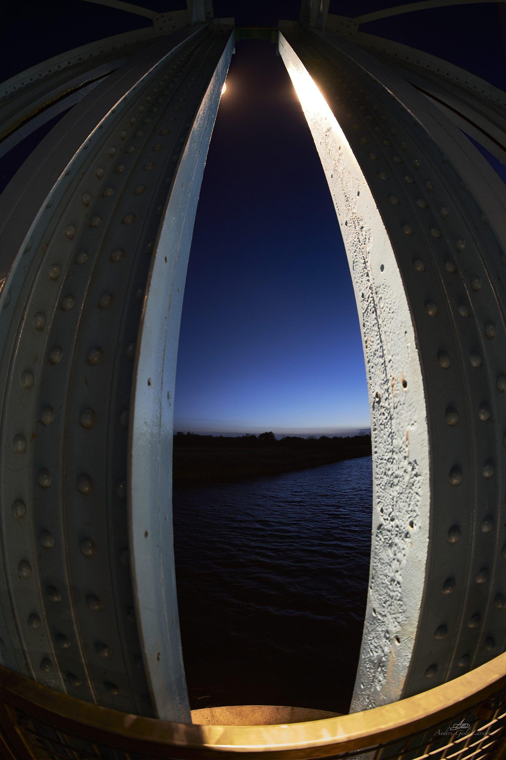Månestik, Uge 40, Fiskeøje, Punktfoto, Randers
