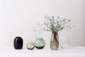 Vases by Lyngby Porcelain