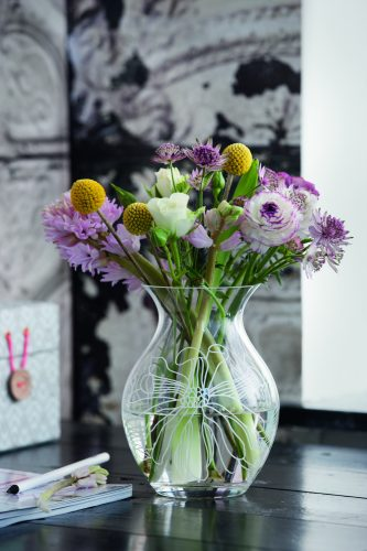 Machine made vase & pantograf - By Rosendahl