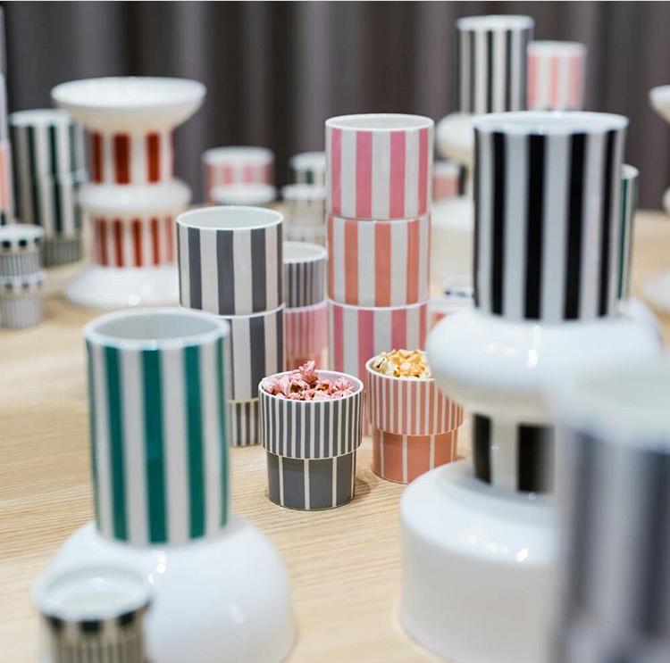 Funfair vases - Tivoli by Normann Copenhagen