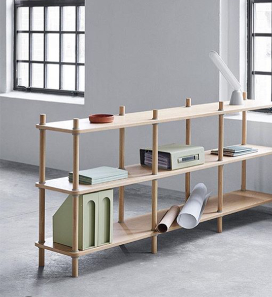 Jam Shelf system by Normann Copenhagen
