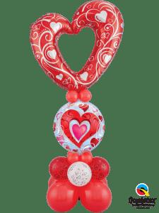 rotes Herz für Mama schenken