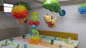 Tischdekoration Winnie Pooh