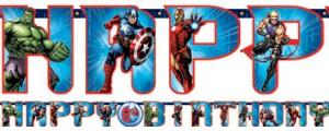 Avengers-Girlande