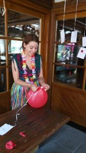 Luftballon-Weitflug
