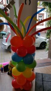 Regenbogen Luftballon Dekoration