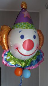 Clown Luftballon