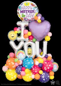 Ballon Bouquet I love you mum