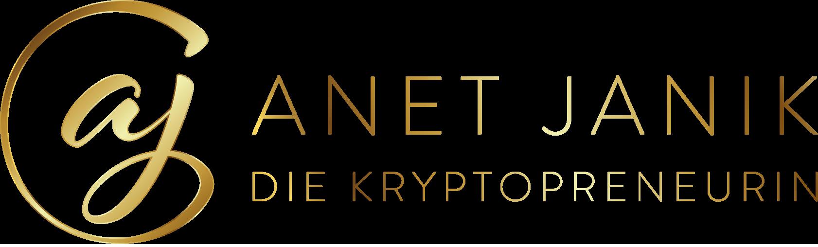 Anet Janik die Kryptopreneurin