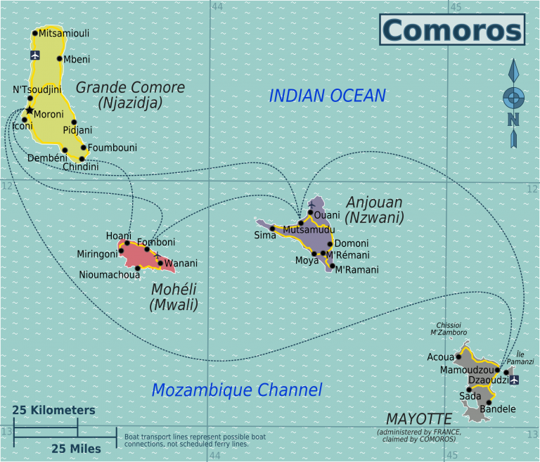 Read more about the article CMA CMG starting fortnightly service between Longoni (Mayotte), Mutsamudu (Anjouan) and Moroni