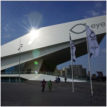 Toeristische fototips Amsterdam Eye Filmmuseum