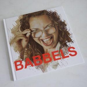 Fotofabriek Babbels fotoboekje voorkant