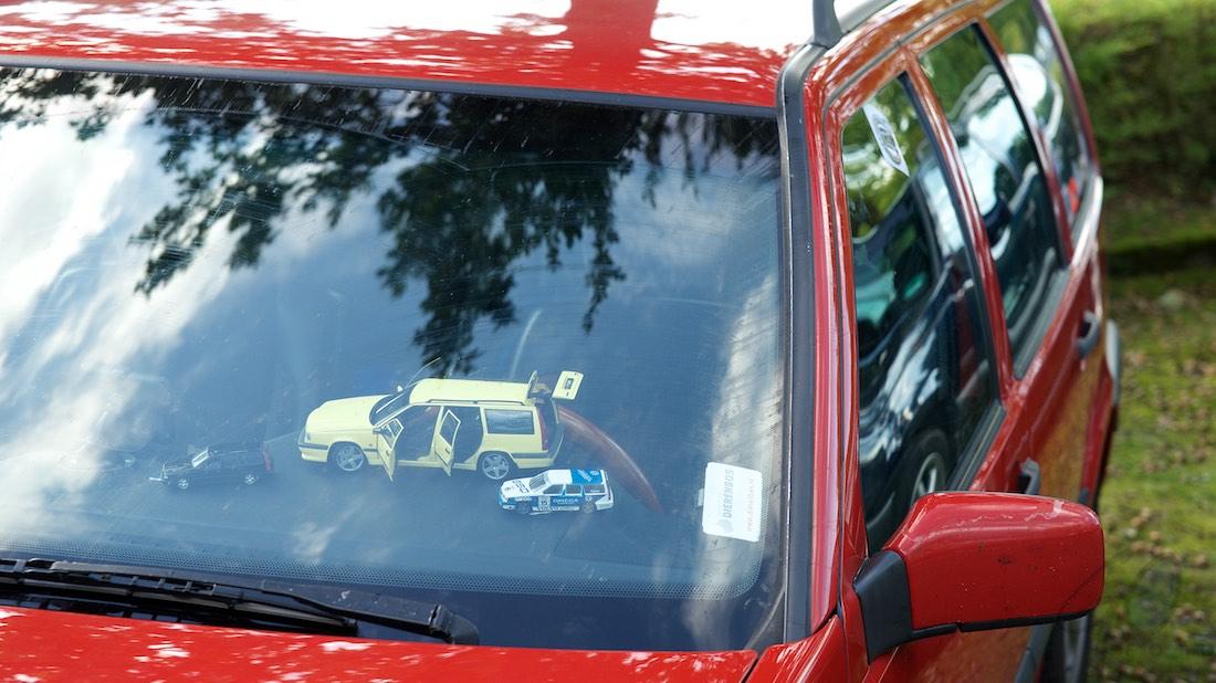 Volvo klassieker in het Autotron
