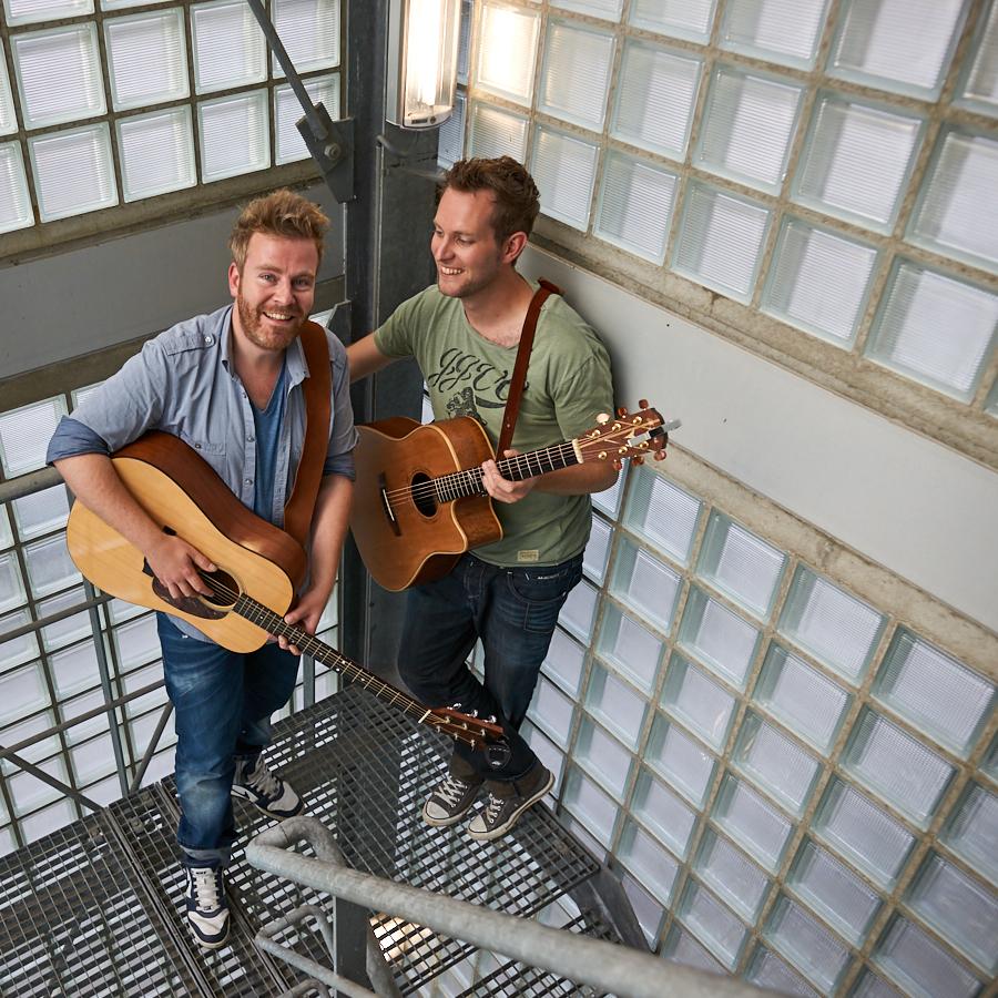 Ed Struijlaart en Michiel van der Zanden