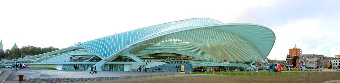 Station Luik – Santiago Calatravas