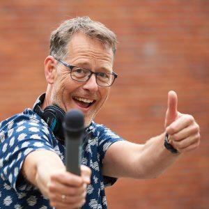 NPO Radio 5 presentator Bert Kranenbarg, portretfoto bij een blog over Cappuccino