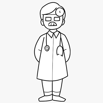 Wordpressdokter III - illustratie van Lukas Kokke