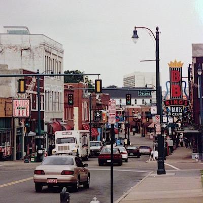 1996 - op bezoek bij BB King in Memphis bij blog over chauffeur met heart of gold