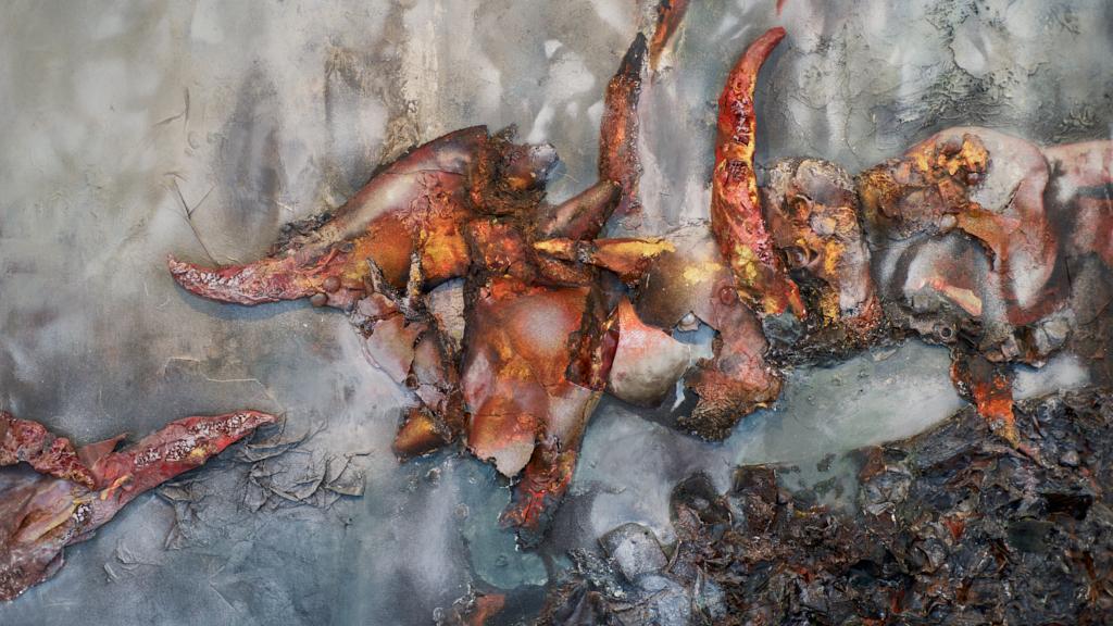 Lora Harreveld olieverfschilderij
