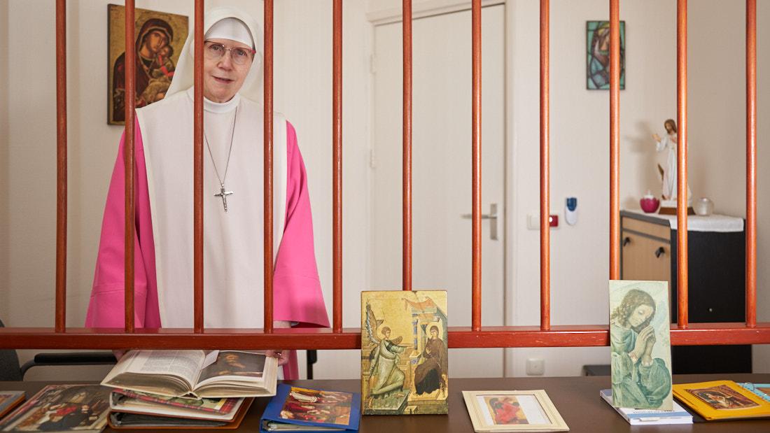 Zuster Maria Confidens bij blog over Meet-up