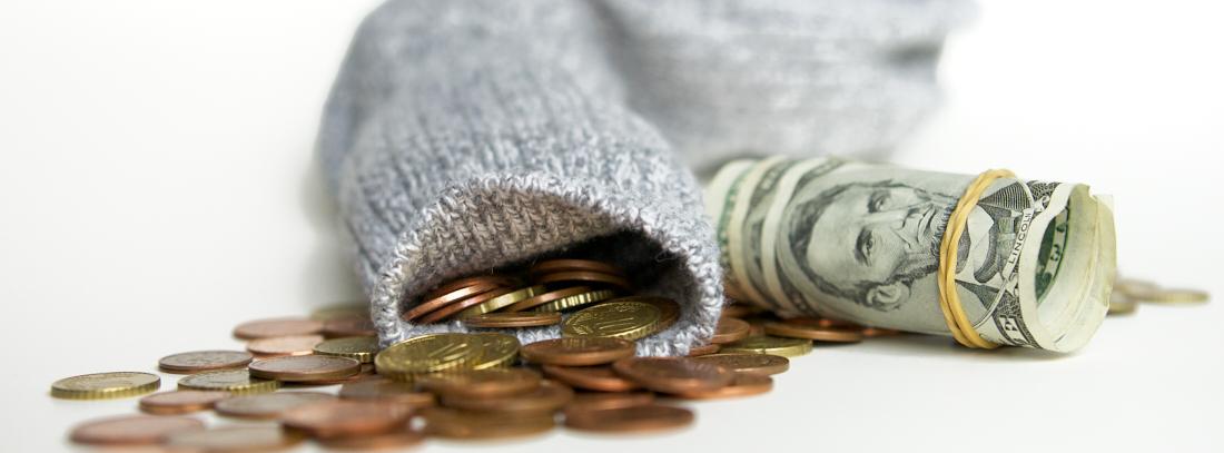 Banken blog Geld in sok