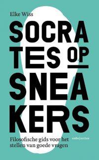 Elke Wiss Socrates op sneakers boekcover