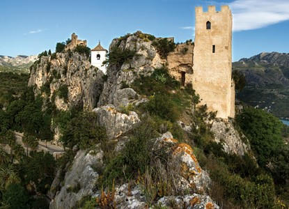 Golfresa till Alicante och Guadalest