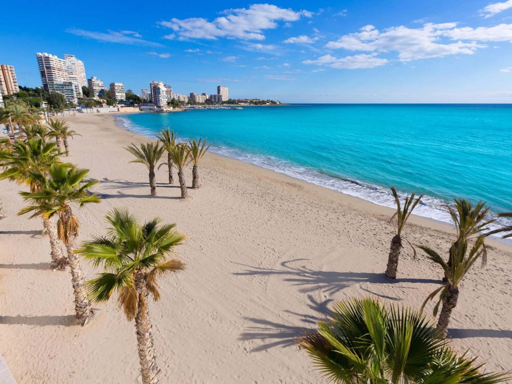 Golfresa till Alicante, Playa de San Juan
