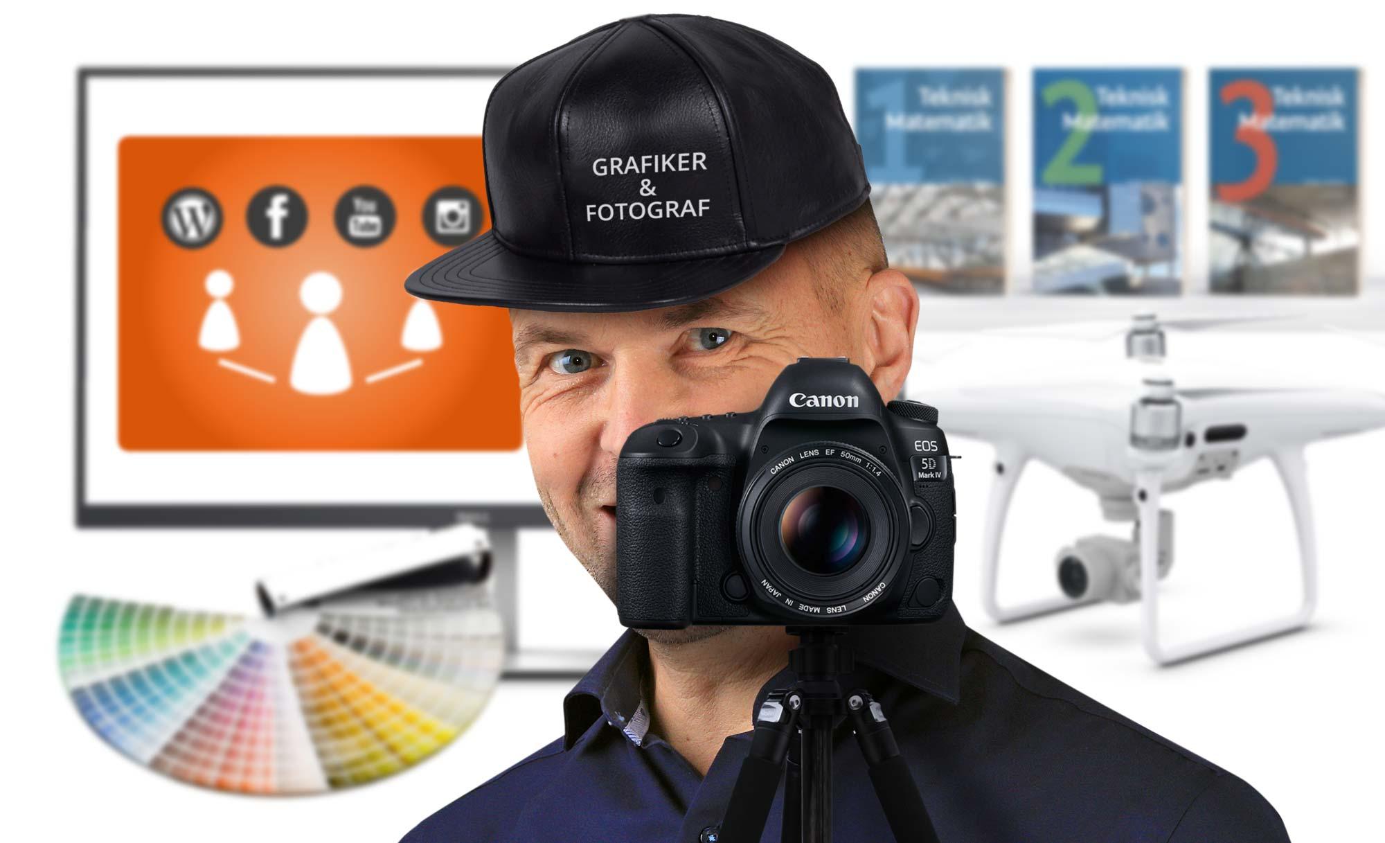 Fotograf og uddannet grafiker – Det giver dig disse fordele