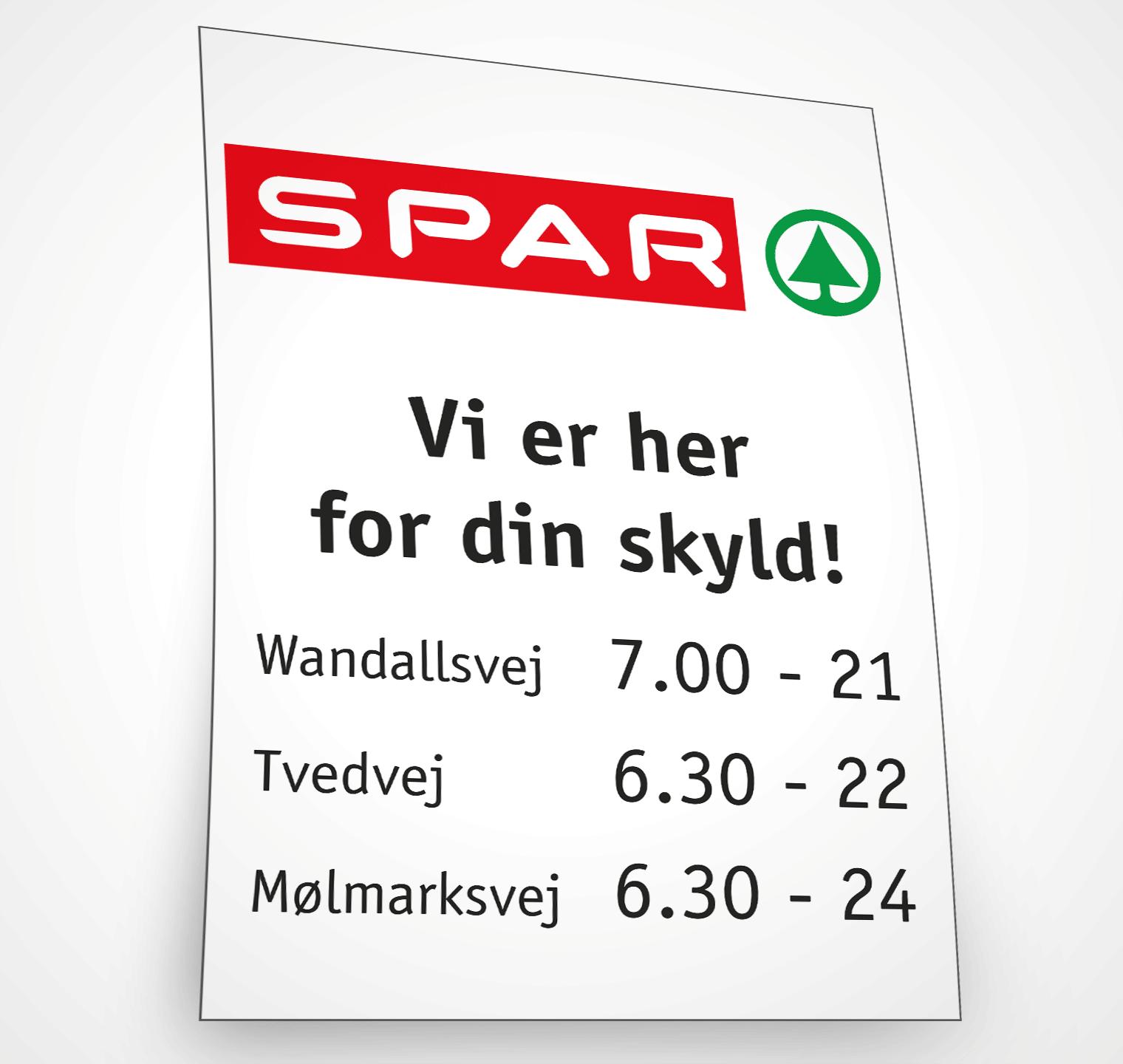 SPAR annonce – Design og sats: Grapida