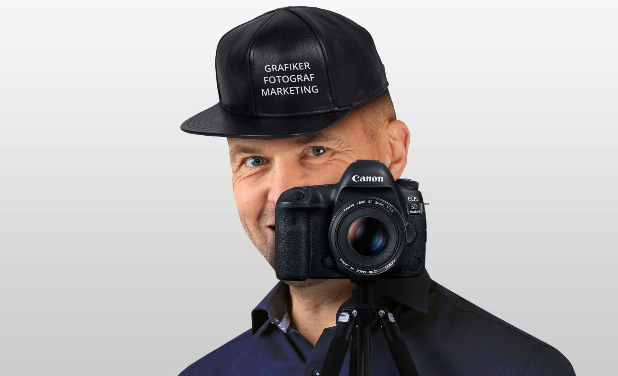 Fotograf, grafiker og  marketinguddannet giver dig disse fordele