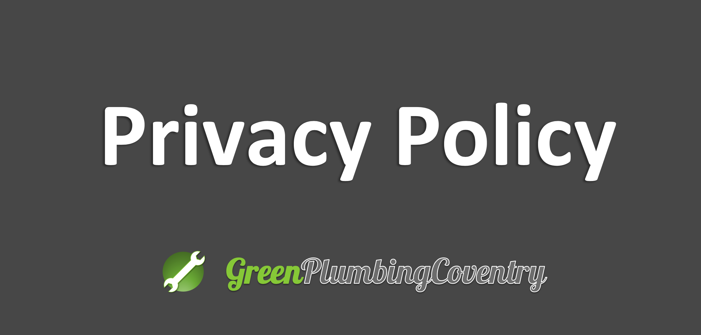 Green plumbing coventry privacy policy pic