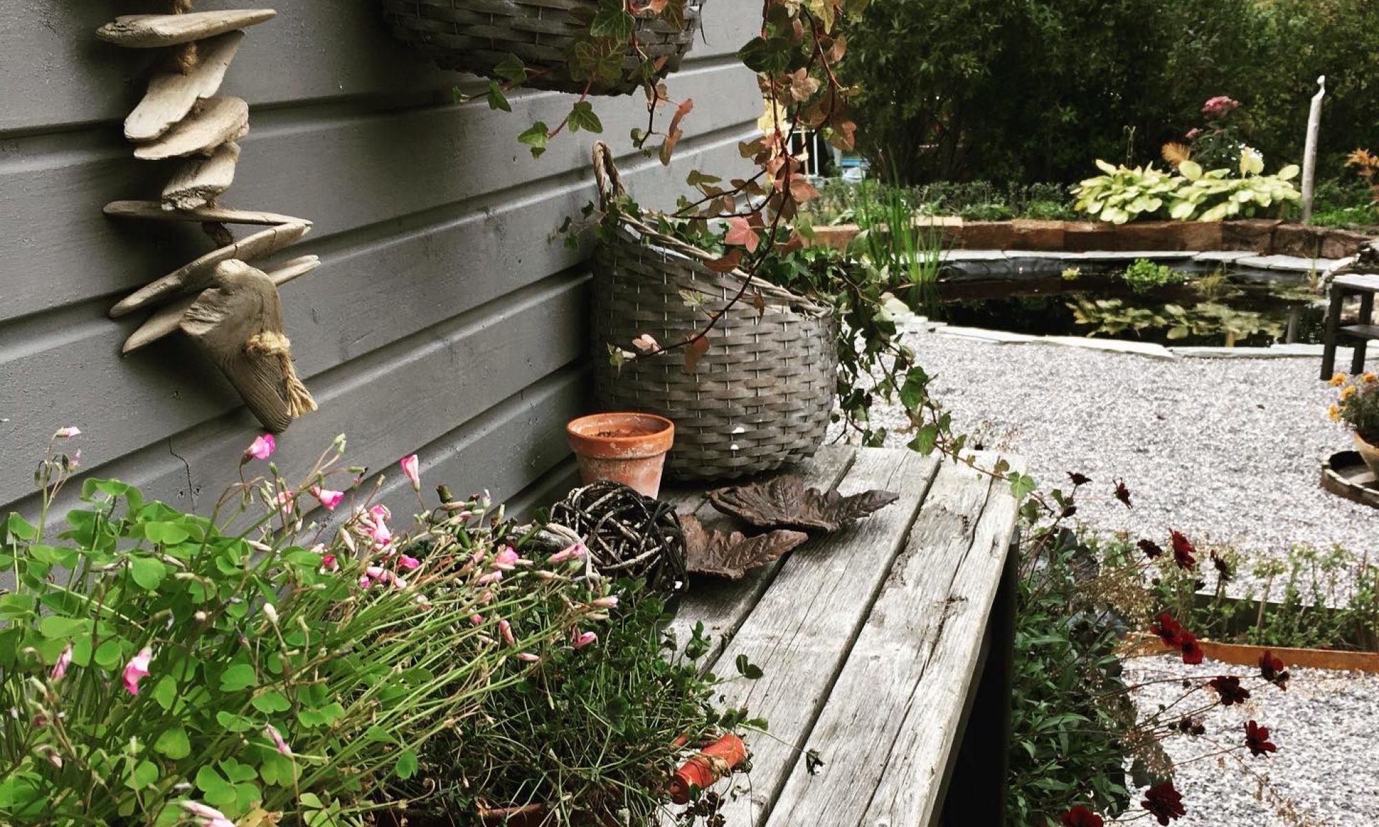 En plats för hem & trädgård