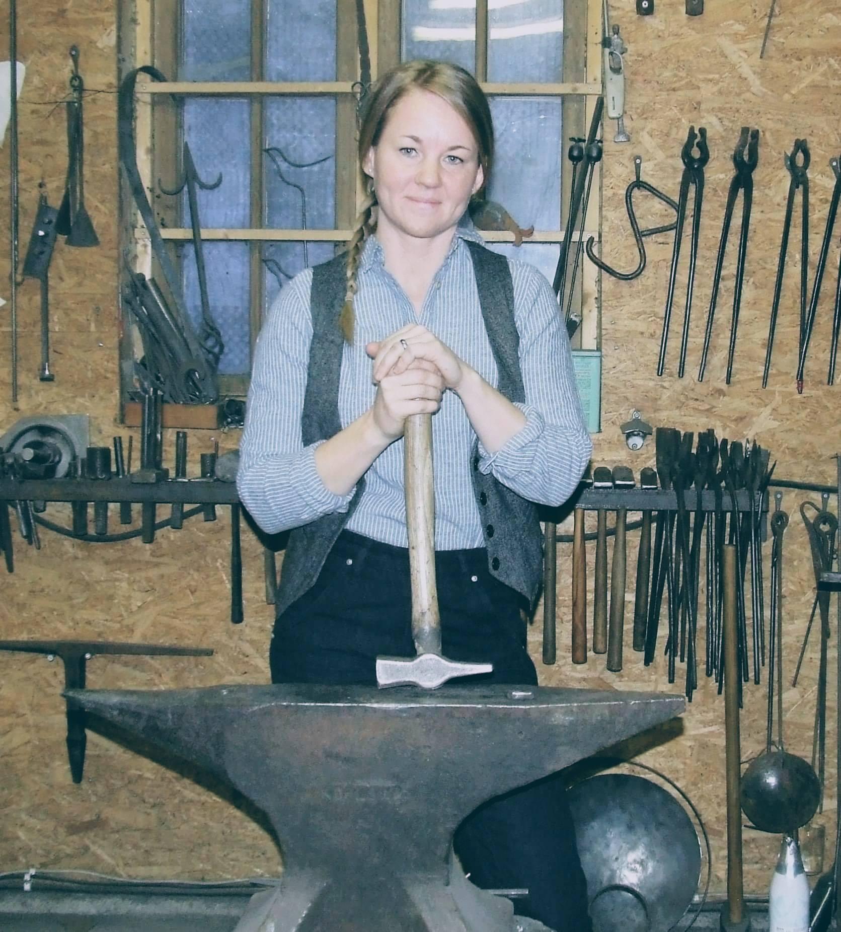 trädgård designer trädgårdsverktyg. Johanna