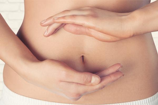 Gases hinchazón abdominal