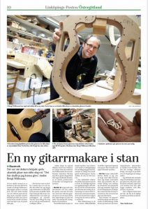 Workshop Wälivaara Guitars