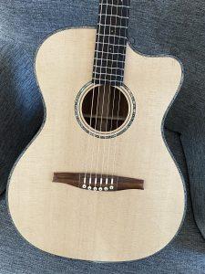 Wälivaara OM cutaway, steel string guitar