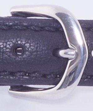 212022001 Gul Elk strap black steel clasp 14mm kopiera