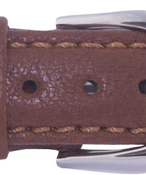 212032000 Gul Elk strap brown steel clasp 16mm