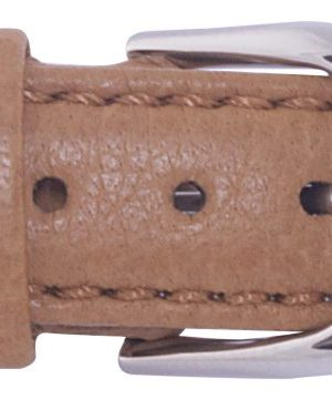 212032004 Gul Elk strap Light brown steel clasp 16mm