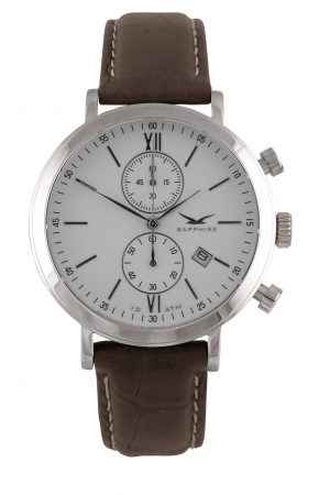 810011411 Pimlico II Chrono, White, Leather