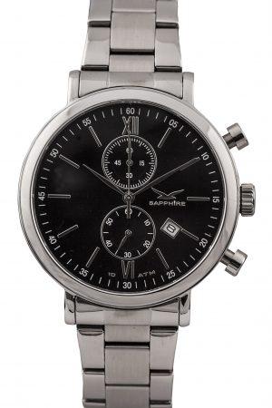 810012401 Pimlico II Chrono, Black, Bracelet