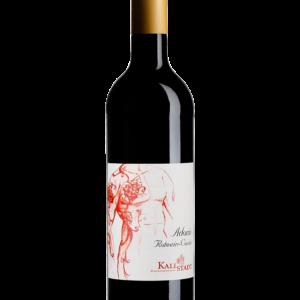 Flasche Rotwein