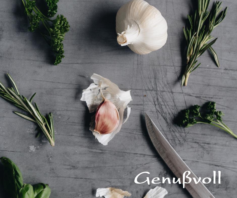 Knoblauch Gewürz Kochen Ideen