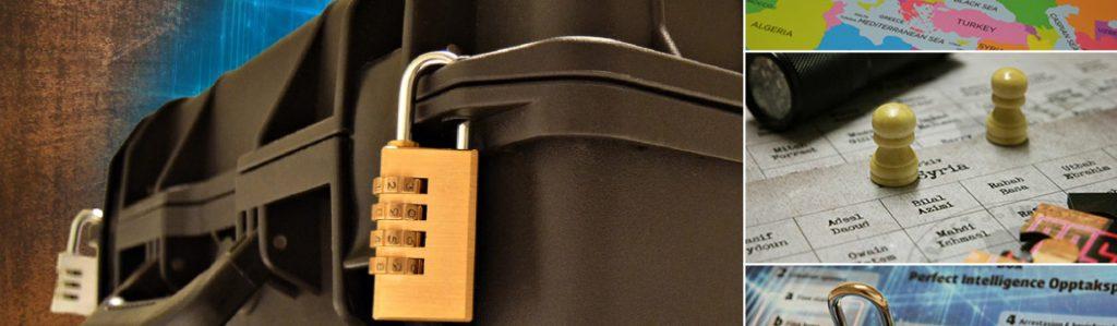 Hotell Hallstaberget - Escape Box kollage