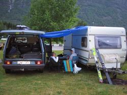 Campen.. Sverre og Kalle