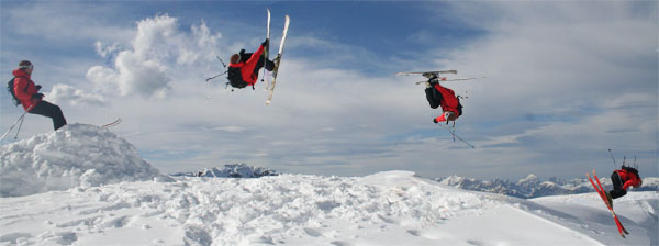 Joppe snurrer i Chillertal