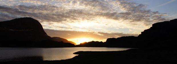 Sol i Øystastranddal