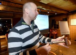 Gunnar Stormo fortsetter som styremedlem etter fire år ved roret i foreningen.