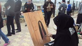 مَرسَم حر على ضفاف دجلة ببغداد